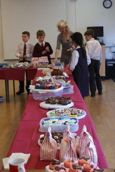 Year 5 Cake Sale at Bromsgrove Prep School