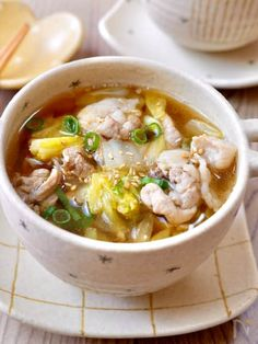 Healthy Family Meals, Healthy Cooking, Healthy Recipes, Food Menu, A Food, Food And Drink, Soup Recipes, Cooking Recipes, Best Chinese Food