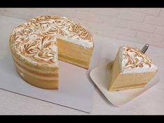 ALACSONY KALÓRIATARTALMÚ ANANÁSZ TORTA! csökkentett zsírtartalommal! A lángoló eggwhite krém - YouTube Pineapple Cake, Vanilla Cake, Creme, Sweets, Desserts, Youtube, Charlotte, Food, Fat