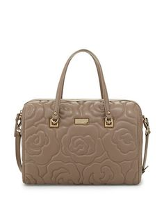 sedgwick+lane+kensey+quilted+satchel+bag,+warm+putty+by+kate+spade+new+york+at+Neiman+Marcus.