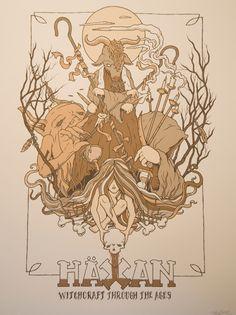 Haxan - poster by Mi