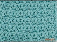 How to Crochet: The Grit Stitch - YouTube