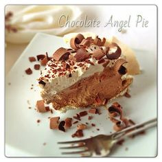 The Dutch Baker's Daughter: Chocolate Angel Pie Revisited