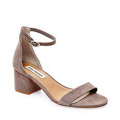 Steve Madden Women's Irenee Two-Piece Block-Heel Sandals - Heels - Shoes -  Macy's