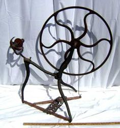Carlton's cast-iron wheel