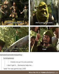 When Shrek met Robin Hood