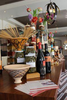 The Sicilian Affair at CottoCrudo Executive Chef, Four Seasons Hotel, Sicilian, Fine Dining, Restaurant Bar, Affair, Table Settings, Table Top Decorations, Place Settings