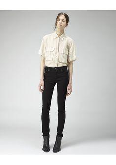 Acne / Flex Black Jean