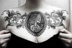 Image via We Heart It https://weheartit.com/entry/40525950/via/28122734 #boobs #dress #tattoo