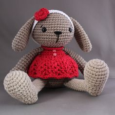 Ravelry: Miss Bunny pattern by Mari-Liis Lille