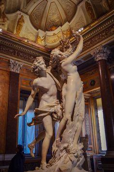 Apolo y Dafne - Bernini, Galeria Borghese (Roma - Italy)