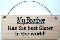 cute sign, I need to make this for my brothers.