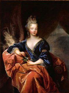 Françoise Marie de Bourbon, Mademoiselle de Blois, fille naturelle que Louis XIV eut secrètement de la marquise de Montespan