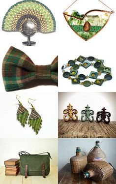 Autumn Green by Tronell on Etsy--Pinned with TreasuryPin.com