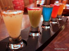 Margarita Flight @ La Cava del Tequila - Epcot Mexico