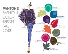 PANTONE Fashion Color Report Fall 2013 #FCRF13