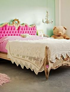 Wouldn't a cool headboard like this be awesome???