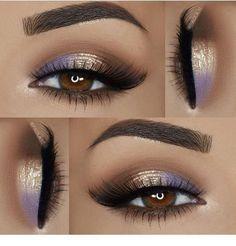 Ich mag das lila Detail für braune Augen # Zubehör # Zubehör - Zubehör#augen #braune #das #detail #für #ich #lila #mag #zubehör