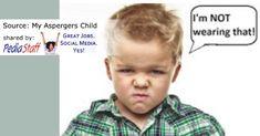 Autism Corner: Sensory Meltdowns in Kids on the Autism Spectrum | PediaStaff Pediatric SLP, OT and PT Blog Following Directions, Sensory Processing Disorder, Social Stories, Children With Autism, Autism Spectrum, Aspergers, Social Skills, Pediatrics, Kids Wear