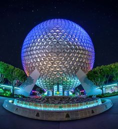 My favorite shot of Spaceship Earth from when the lighting wasn't so intense. #WaltDisneyWorld #wdw #epcot #epcotcenter #sse #spaceshipearth #madetothrill #disneyparks