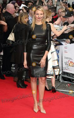 """Cameron Diaz at """"The Other Woman"""" premiere London 4/2/14"""
