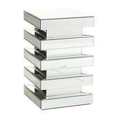 I MUST HAVE THIS!!! Wisteria - Furniture - Shop by Category - Accent Tables & Pedestals -  Stacks of Mirrors Table - $299.00
