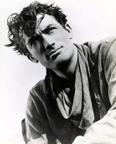 """Gregory Peck en """"Duelo al Sol"""", 1946"""