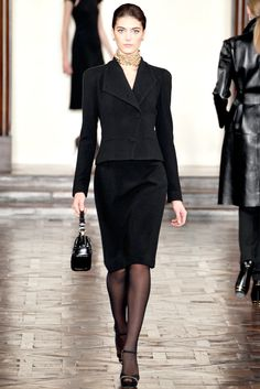 Ralph Lauren Fall 2012 Ready-to-Wear Collection Slideshow on Style.com