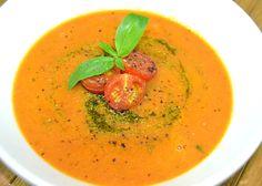 Roasted Tomato-Basil Soup