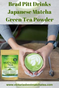 According to An Interview With GQ Magazine Brad Pitts gone through a total mind body & life transformation. He traded Alcohol for Japanese Matcha Green Tea Powder. Judging form his abs its working for him! Find more relevant stuff: victoriasbe Detox Tea Diet, Detox Diet Recipes, Green Tea Detox, Detox Drinks, Body Detox, Detox Foods, Healthy Detox, Healthy Smoothies, Healthy Weight