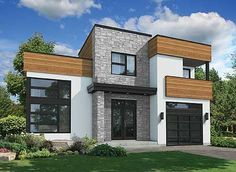 Contemporary with Family Room Plus Living Room - 80823PM | Contemporary, Modern, Canadian, Metric, Narrow Lot, 2nd Floor Master Suite, Butler Walk-in Pantry, CAD Available, Den-Office-Library-Study, PDF | Architectural Designs