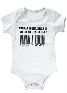 Body Bebê Branco Estampado - Posthaus