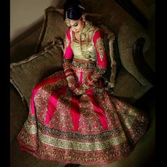 Gorgeous south Asian wedding clothes. Desi wedding. Desi bride