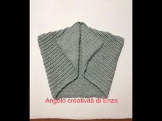 Gilet/coprispalle ai ferri velocissimo per principianti 🧶 - YouTube Loom Knitting, Crochet, Shawl, Knitwear, Men Sweater, Sweaters, Lana, Dresses, Youtube