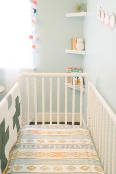 Mint & Peach Nursery For Georgia – Fawn Design