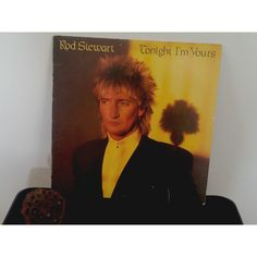 Rod Stewart TONIGHT I'M YOURS, Warner Bros. Vinyl Original 33 rpm (£11) ❤ liked on Polyvore featuring home, home decor and vinyl home decor