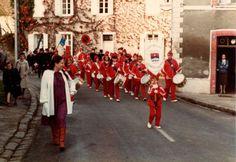 L'union musicale de Souppes-sur-Loing (77) - 1983 - Photo : Richard Moriuser