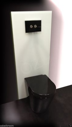 BLACK King Line WELS soft Close Concealed in wall recessed cistern  Toilet Suite.  With the black flush pad round buttons buy insurance 20.00 for postage. 599
