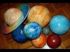Папье маше. Планеты солнечной системы своими руками - YouTube