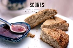 Scones.  Gluten free, egg free, dairy free.  Thermomix TM5 Edition.