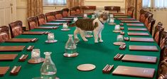 """Meet Larry. This adorable cat is #10 Downing Street's resident cat who holds the important job of keeping the rodent population down. The Prime Minister's office regularly employs helpful felines, and has since the 1500s, but only Larry and one other cat, Humphrey, have been officially titled """"Chief Mouser to the Cabinet Office of the United Kingdom of Great Britain and Northern Ireland."""" While Larry lives alongside the PM, he belongs to his job, and remains at his post despite the human ..."""
