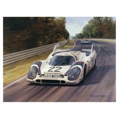 Le Mans 1971 (Porsche 917) Limited Edition Print by Graham Turner