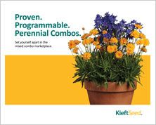 Proven, programmable, perennial combos' brochure. Plant Catalogs, Container Gardening, Perennials, Plants, Closure, Lace, Ideas, Racing, Planters
