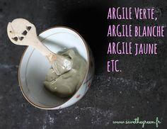 Les bienfaits de l'argile #cosmétiques #naturels #bio @SAVE THE GREEN.fr