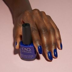 Photo by CND on October 15, 2020. #Regram via @CGXr6cNMjDU Mani Pedi, Manicure And Pedicure, Cnd Shellac Colors, Some Ideas, Blue Moon, How To Feel Beautiful, You Nailed It, Nail Polish, Nail Art