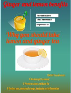 benefits of ginger and lemon tea