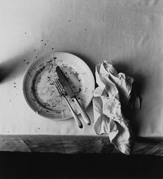 The master of still life. Irving Penn 'The Empty Plate'...