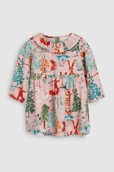 Buy Pink Woodland Print Dress from the Next UK online shop b6fefd4d9f24