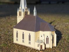 St. Mary's Church, Berlin (Marienkirche) Free Building Paper Model Download - http://www.papercraftsquare.com/st-marys-church-berlin-marienkirche-free-building-paper-model-download.html#BuildingPaperModel, #Church, #Marienkirche, #StMarySChurch