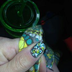Nails / Vera Bradley Style